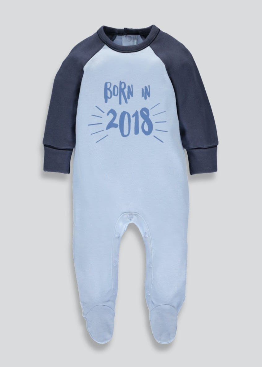 2018 Slogan Baby Grow (Tiny Baby-6mths)