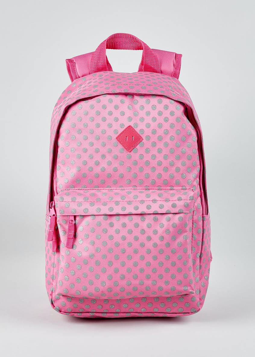 Kids Glitter Spot Backpack