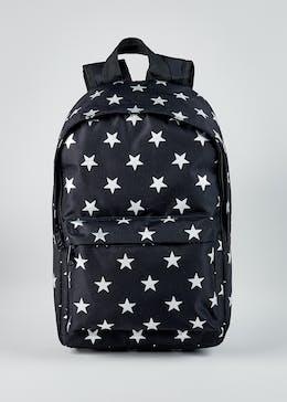 Girls Glitter Star Backpack
