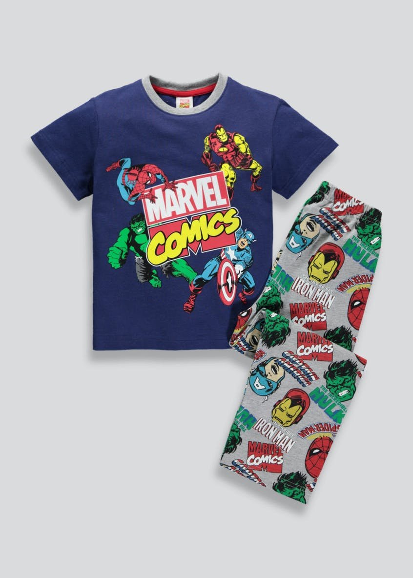 Kids Marvel Comics Pyjama Set (2-9yrs)