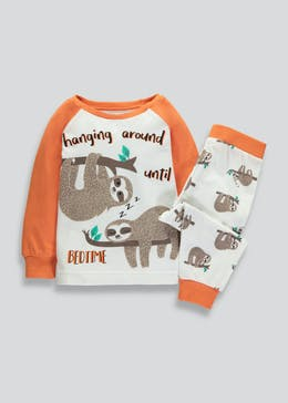Boys Sloth Pyjamas (9mths-5yrs)