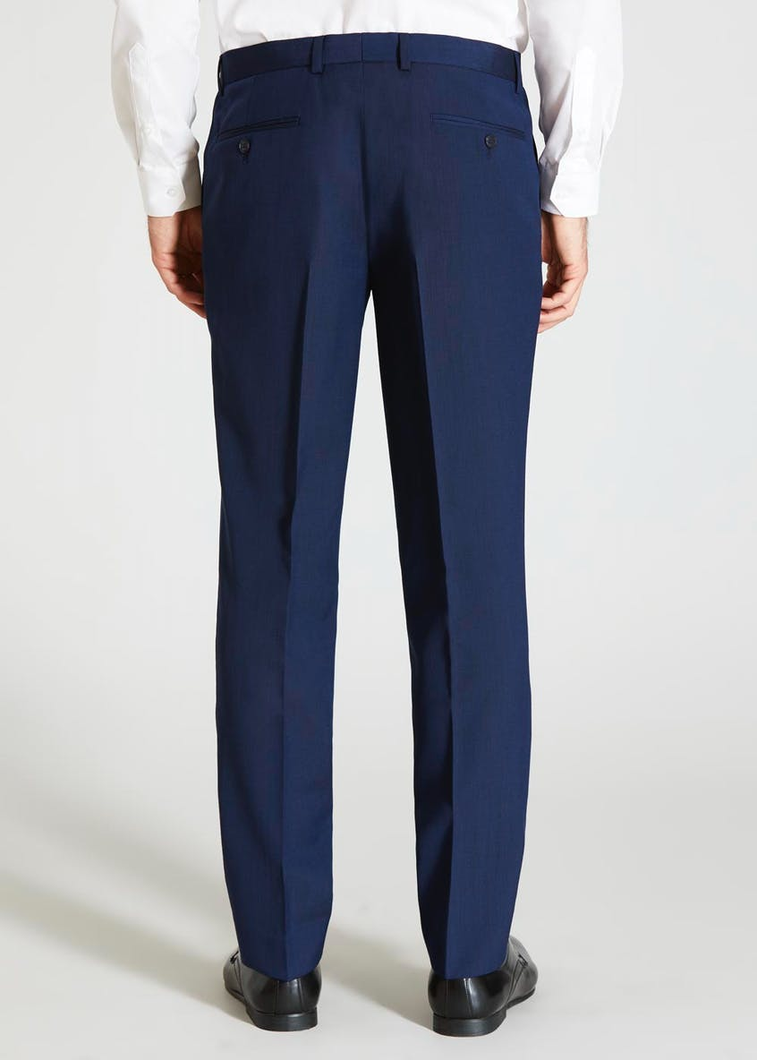 Paddington Wool Blend Slim Fit Trousers