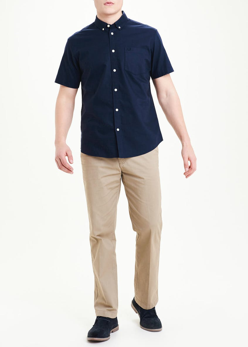 Lincoln Short Sleeve Oxford Shirt