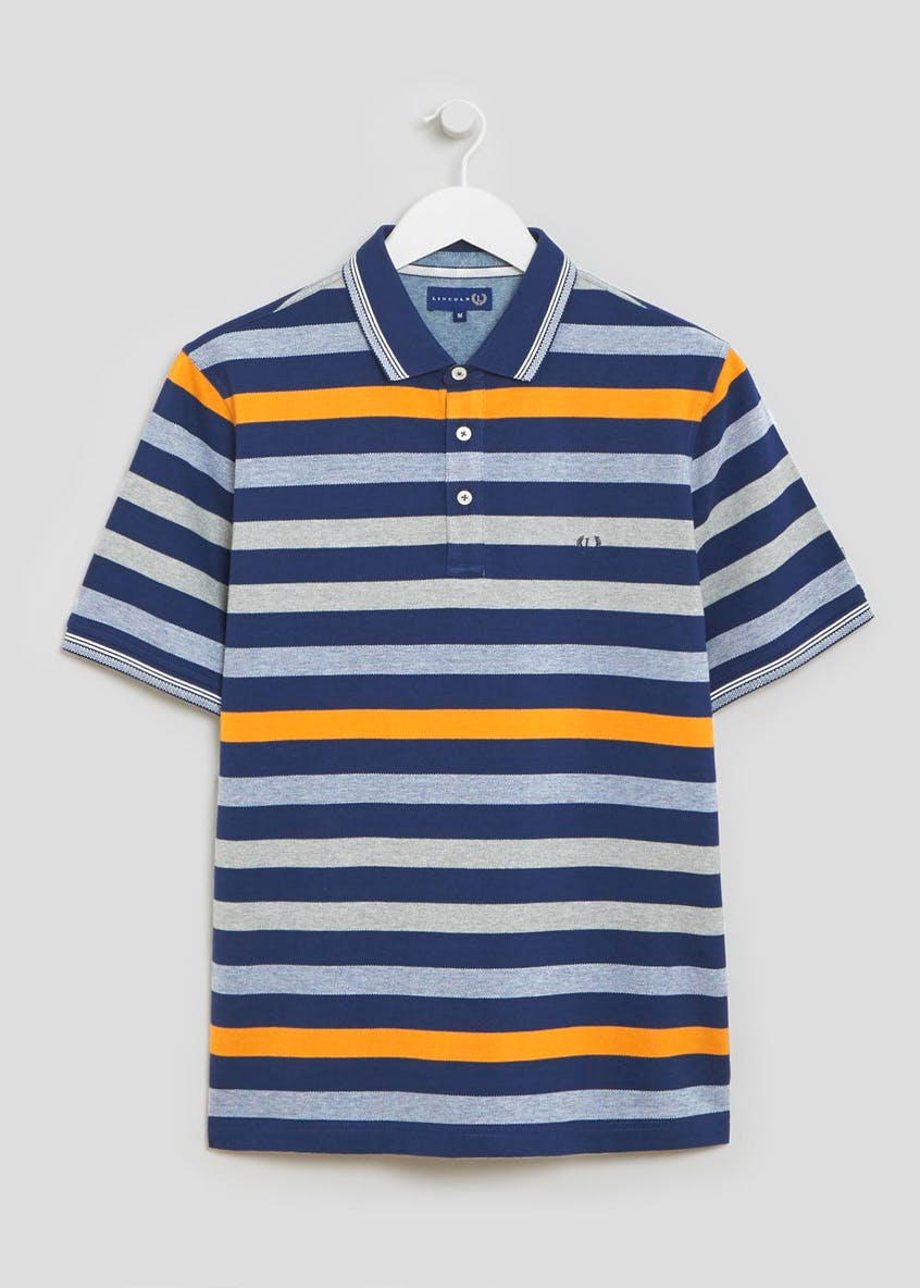 Lincoln Bold Stripe Polo Shirt