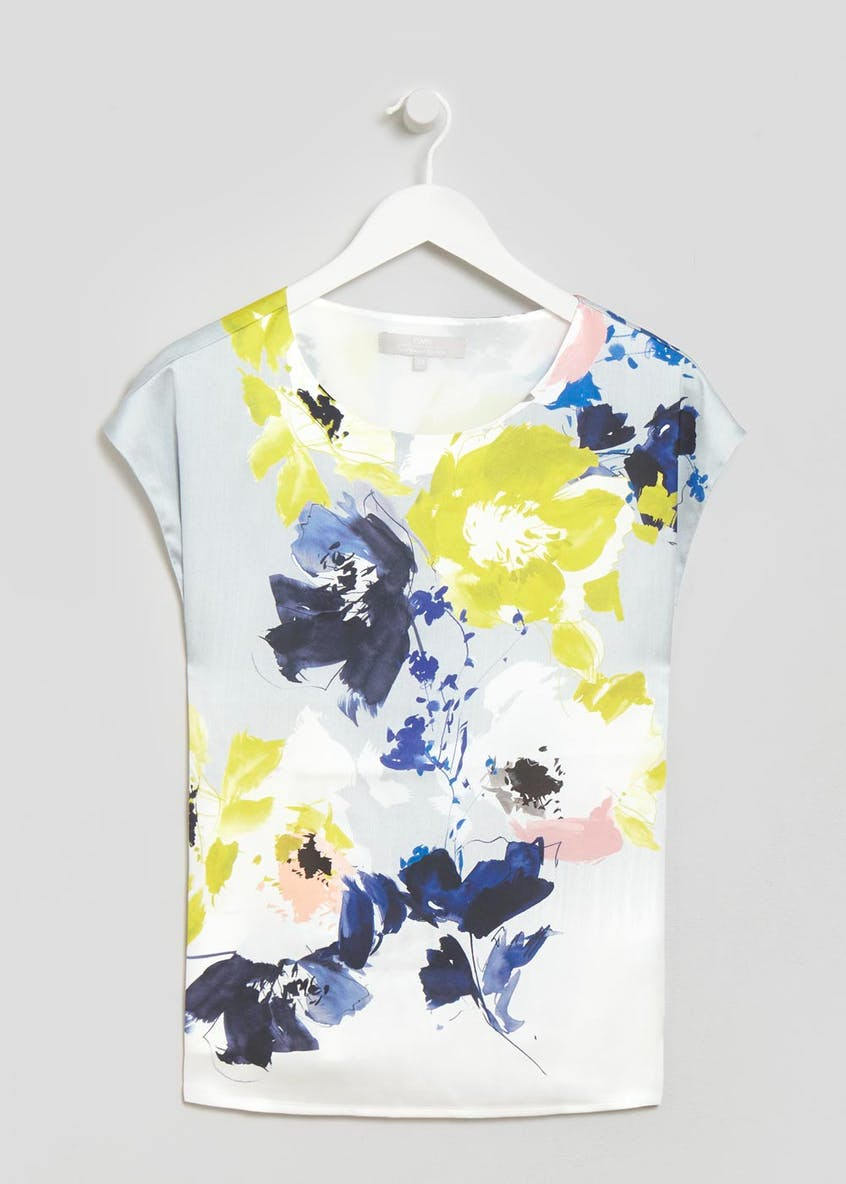 FWM Floral Shift Top