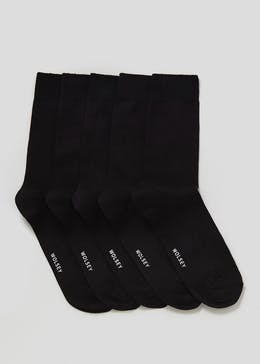 5 Pack Wolsey Cotton Rich Socks