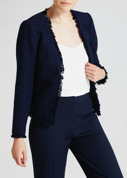 FWM Boucle Cropped Occasion Jacket