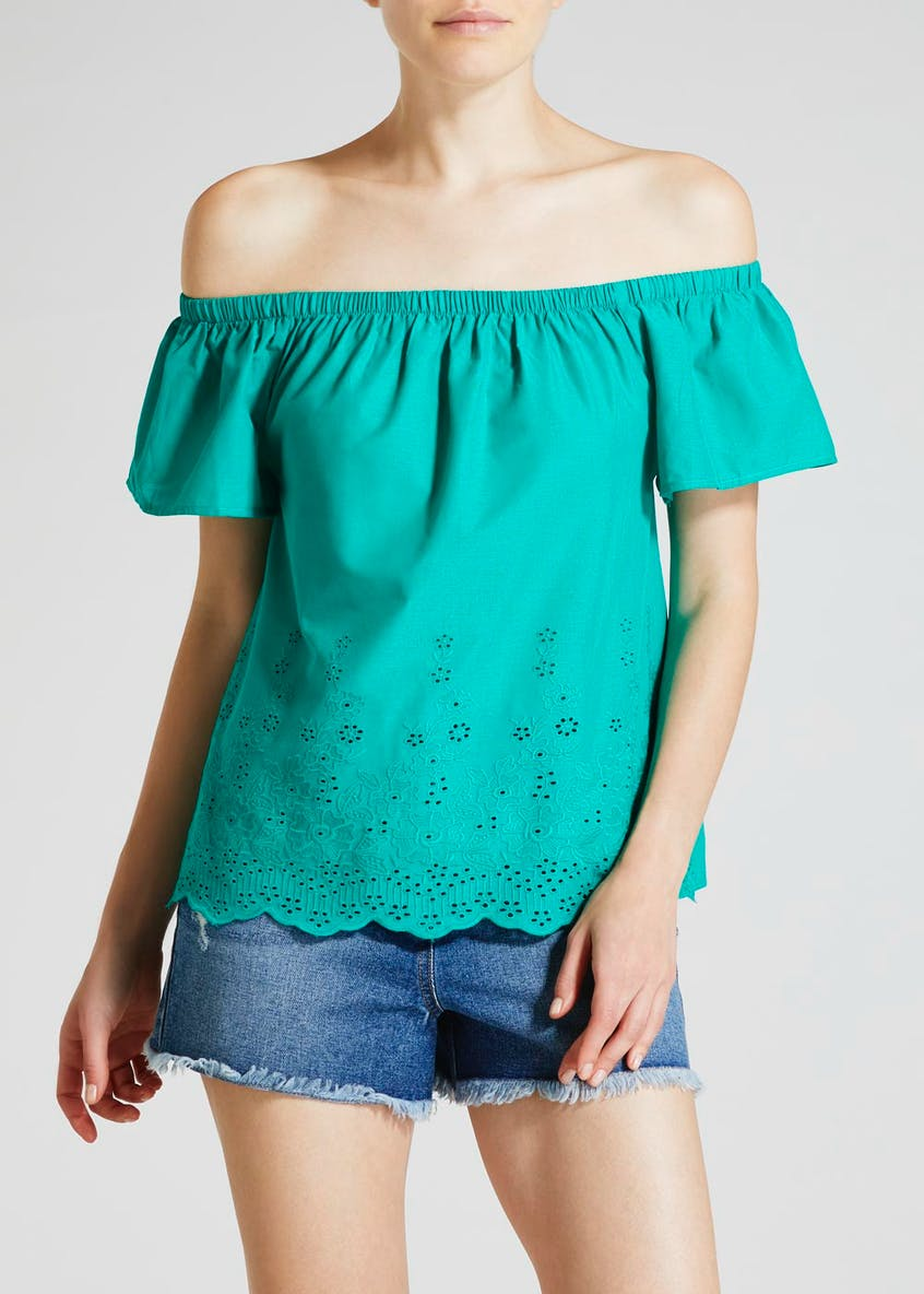 Schiffley Bardot Blouse