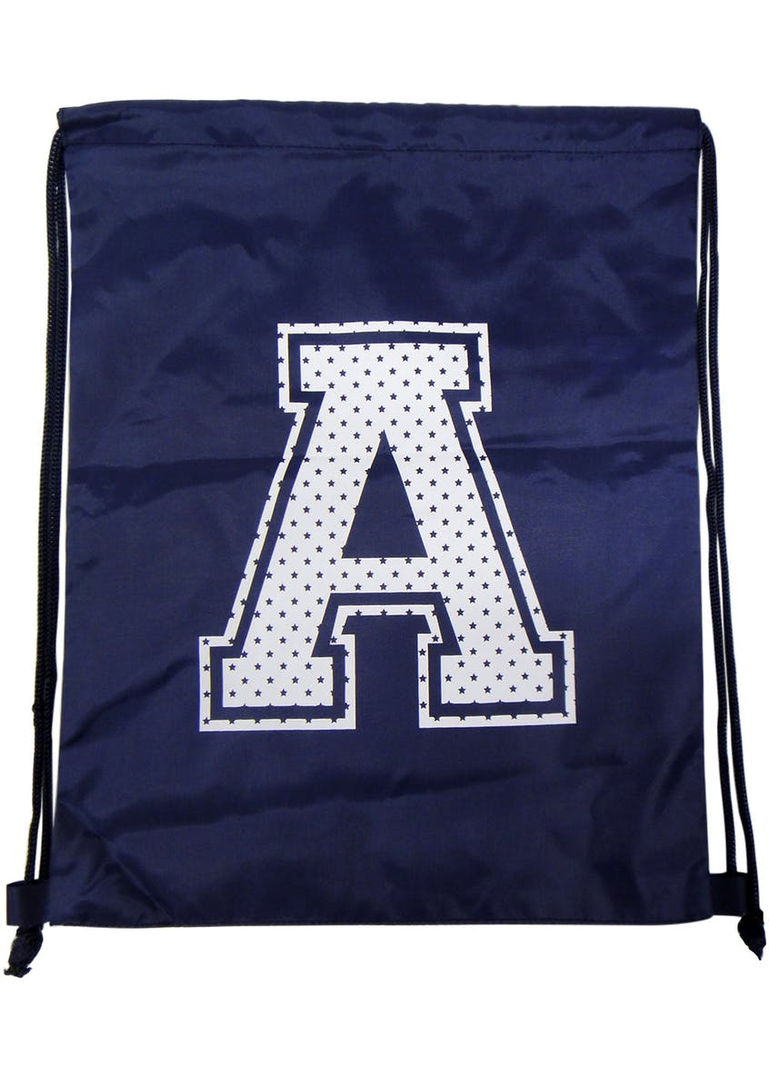 Kids Alphabet Drawstring Pump Bag (One Size)