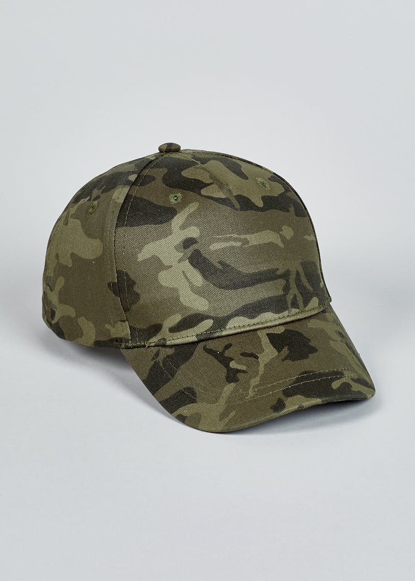 Kids Camouflage Cap (3-10yrs)