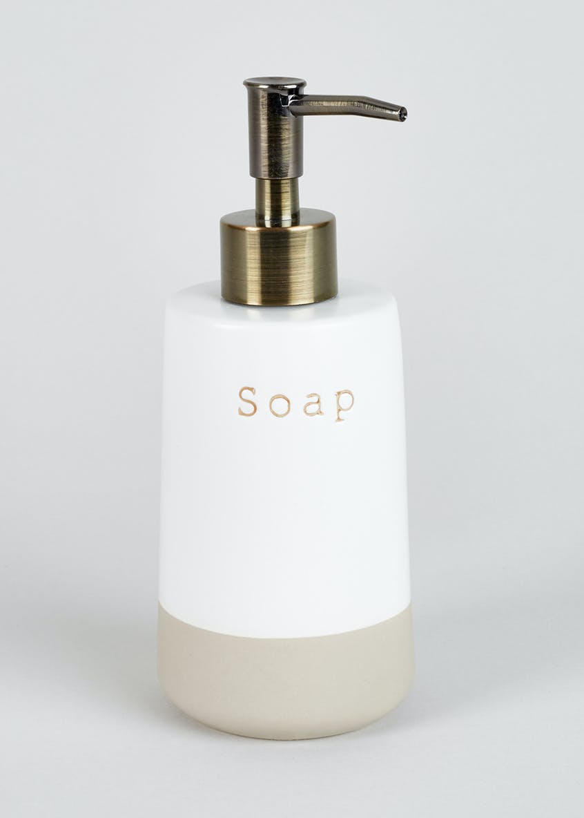Slogan Soap Dispenser (40cm x 33cm)