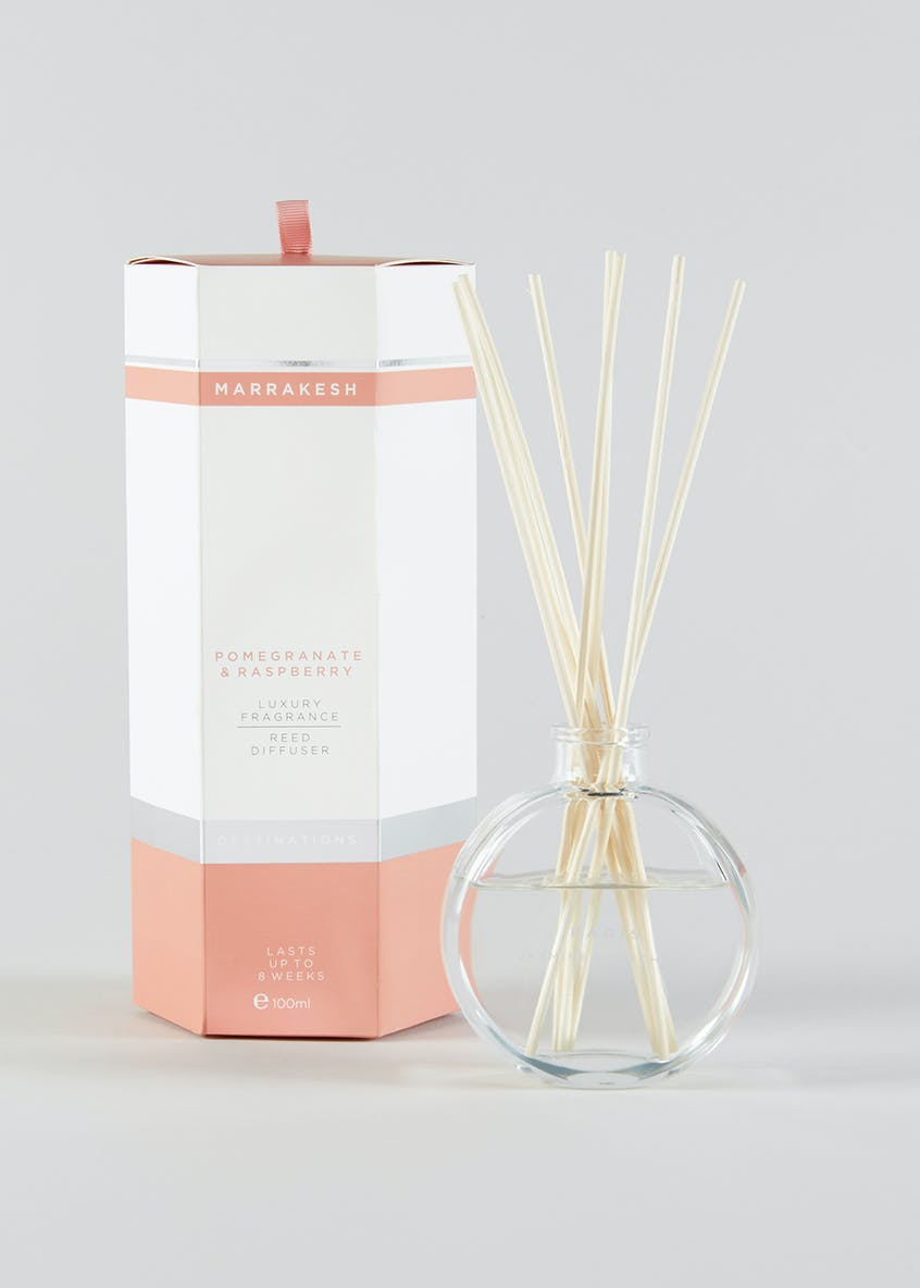 Pomegranate & Raspberry Marrakesh Destinations Diffuser (100ml)