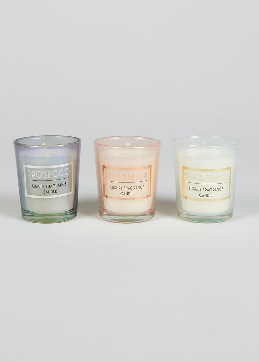 Luxury Scented Candle Trio (6cm x 5cm)