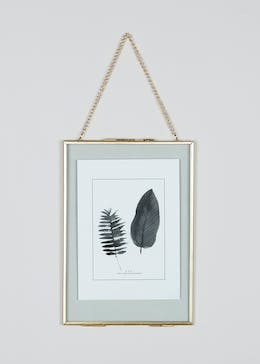 Medium Hanging Metal Photo Frame (24cm x 17cm)