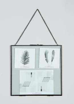 Large Hanging Metal Photo Frame (26cm x 26cm)