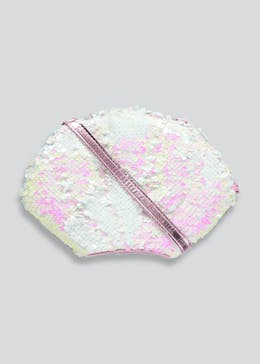 Girls Sequin Seashell Cross Body Bag