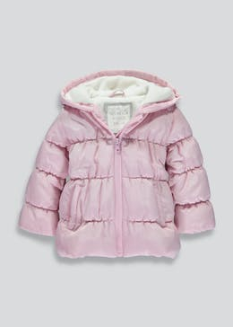Girls Padded Coat (6mths-6yrs)