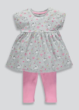 Girls Unicorn Top & Leggings Set (3mths-6yrs)