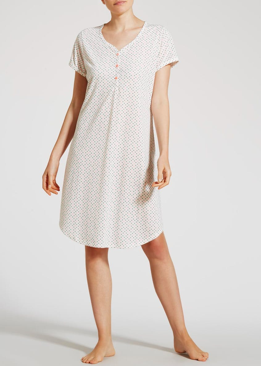 Spot Button Nightie