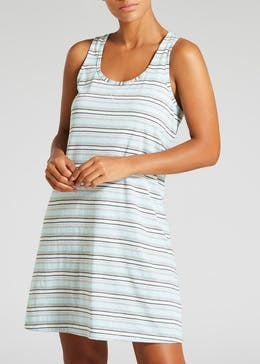 2 Pack Stripe Racer Back Nighties
