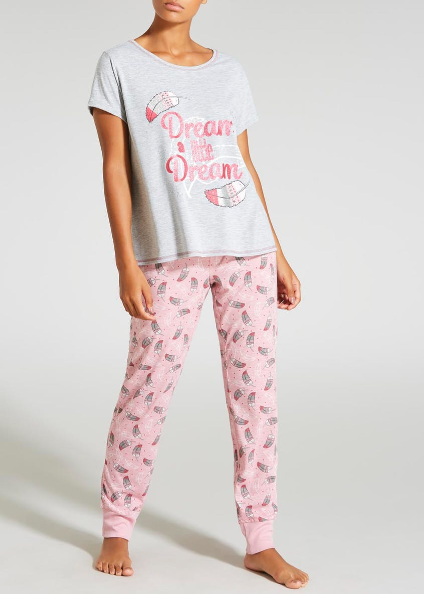 Dream Slogan Pyjama Set