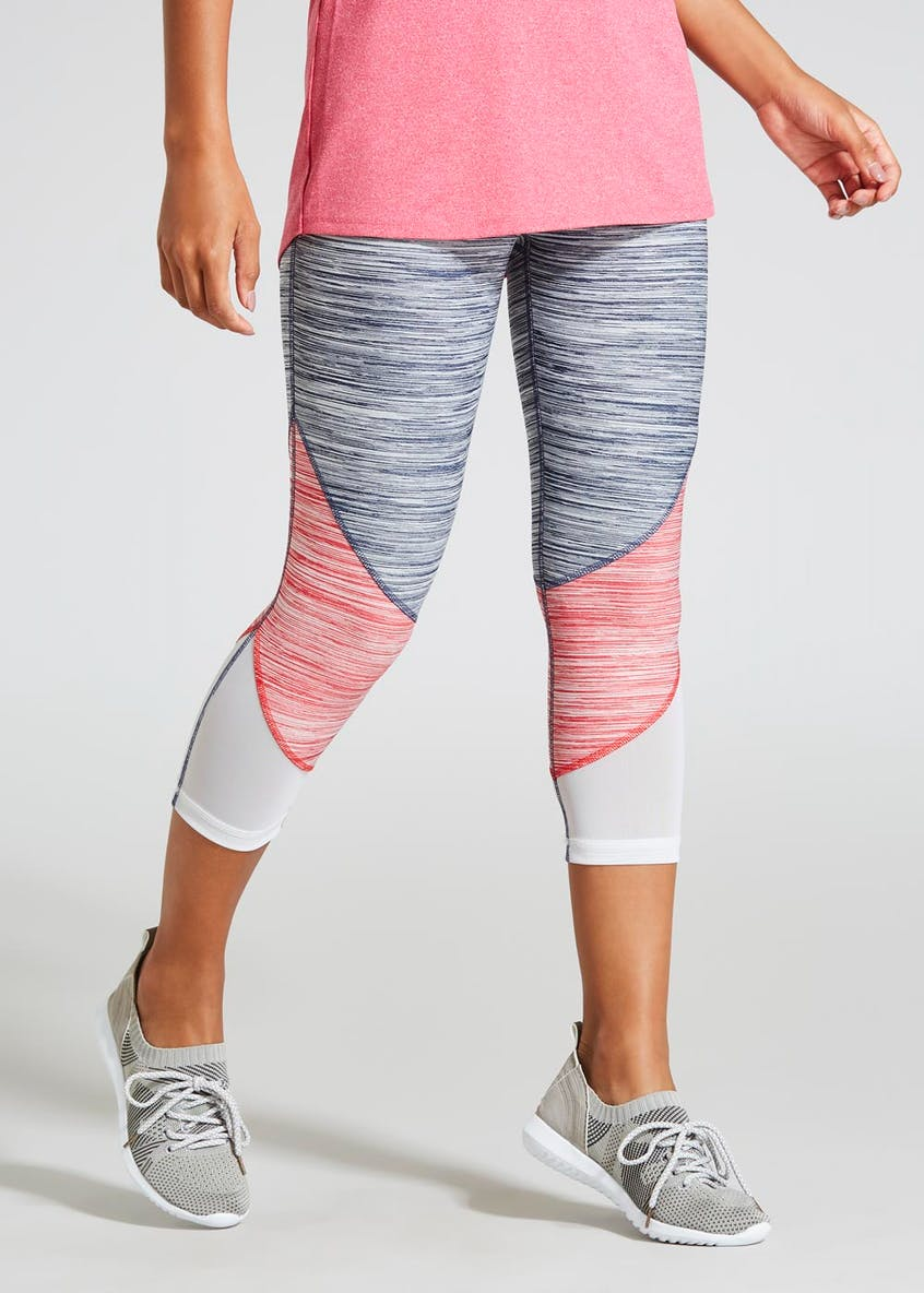 Souluxe Space Dye Capri Sports Leggings