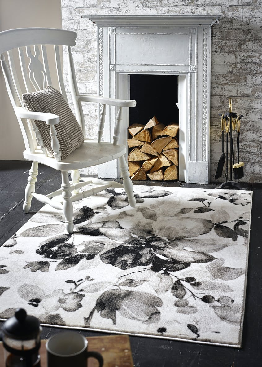 Watercolour Floral Rug