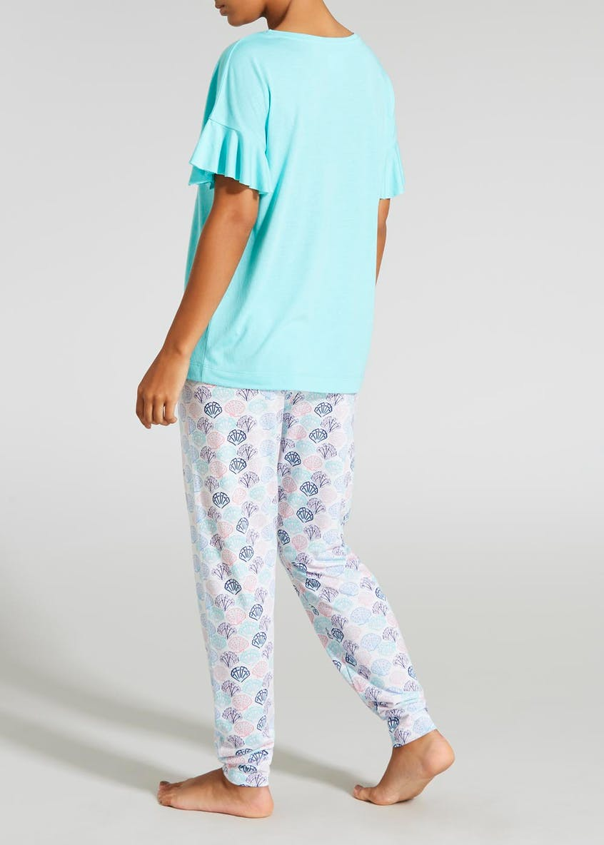 Mermaid Club Slogan Pyjama Set