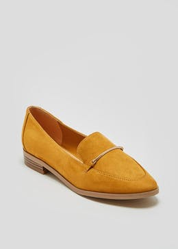 Metal Bar Loafers