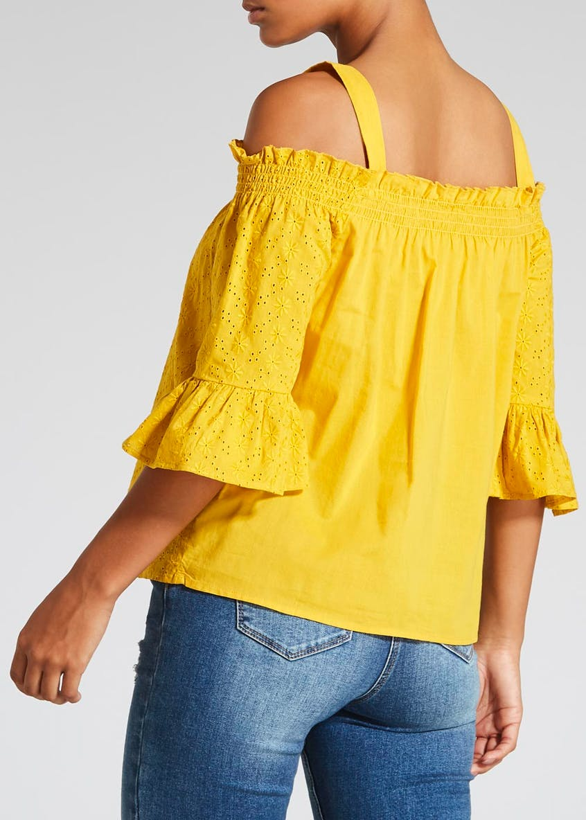 Schiffley Cold Shoulder Blouse