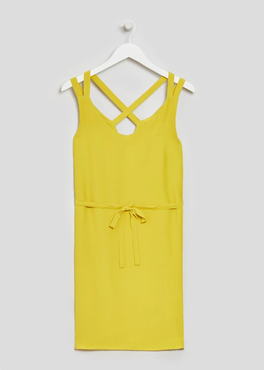 Strappy Cami Dress - Lime