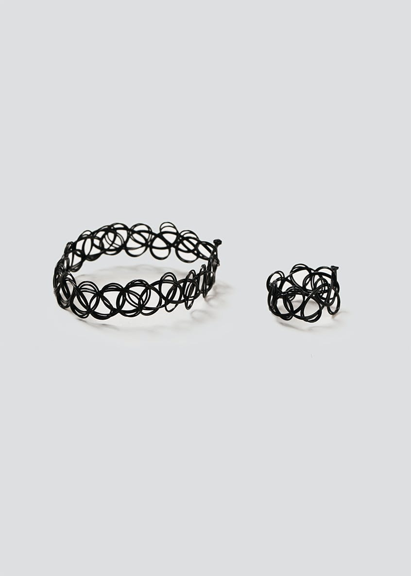 Tattoo Bracelet & Ring Pack