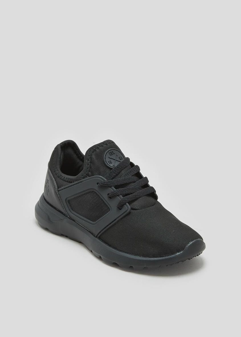 Boys Lace Up Trainers (Younger 10-Older 6)