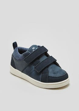 Boys Riptape Strap Trainers (Younger 4-12)