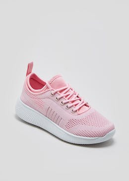 Girls Souluxe Glitter Sports Trainers (Younger 10-Older 5)