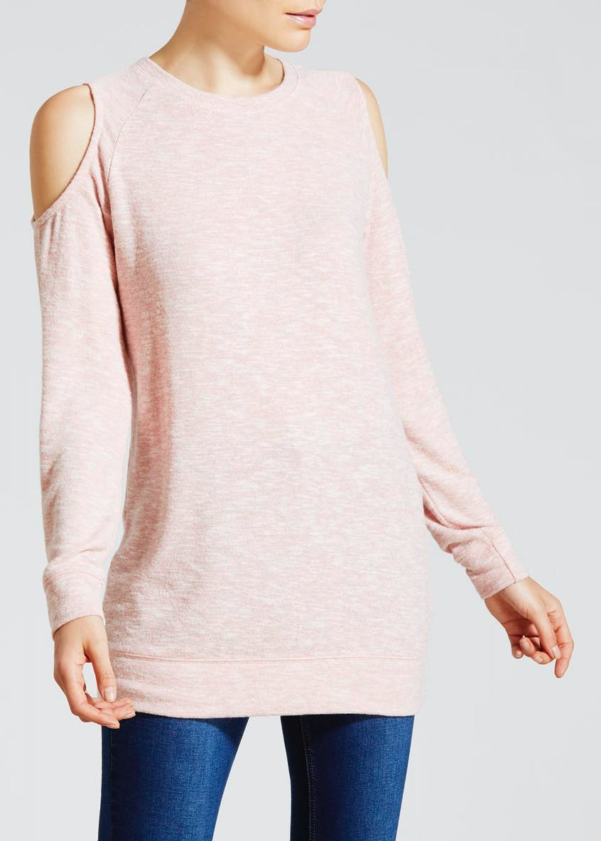 Soft Touch Cold Shoulder Tunic