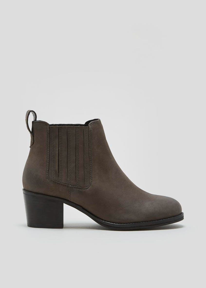 Soleflex Real Leather Chelsea Boots
