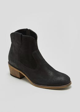 Soleflex Real Leather Western Boots