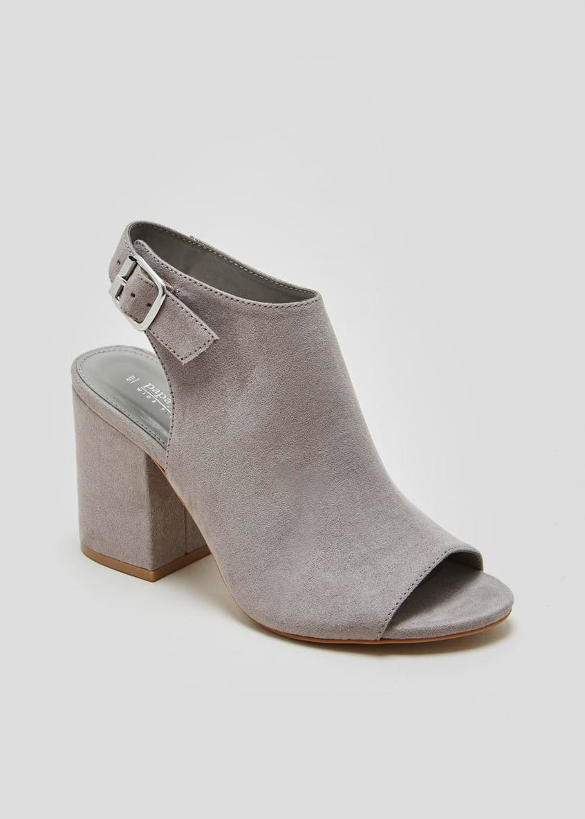 Wide Fit Vamp Shoe Boots