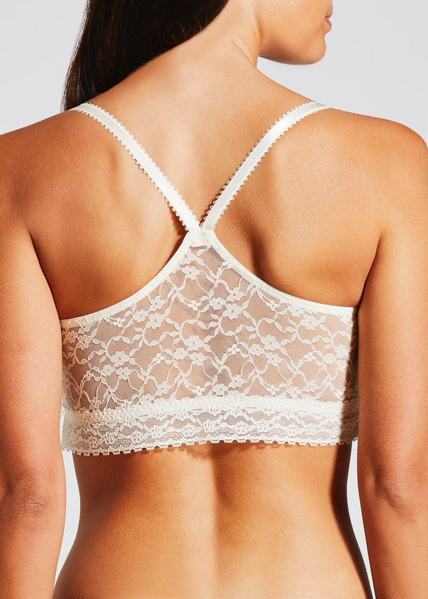 3 Pack Lace Non-Wired Crop Top Bralettes