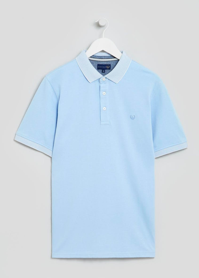 Lincoln Stripe Collar Polo Shirt
