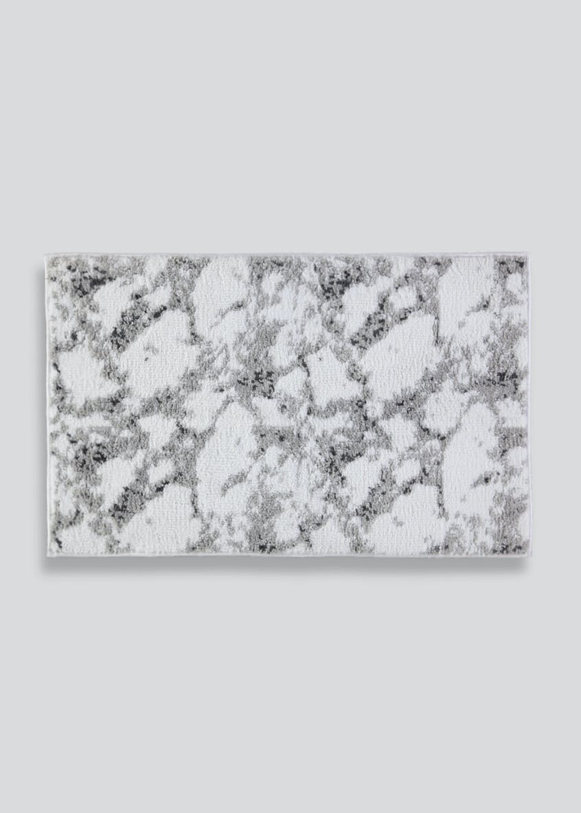 Marble Tufted Bath Mat (80cm x 50cm)