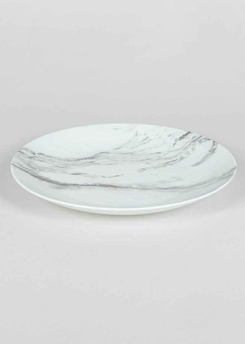 Marble Decal Dinner Plate (26cm)