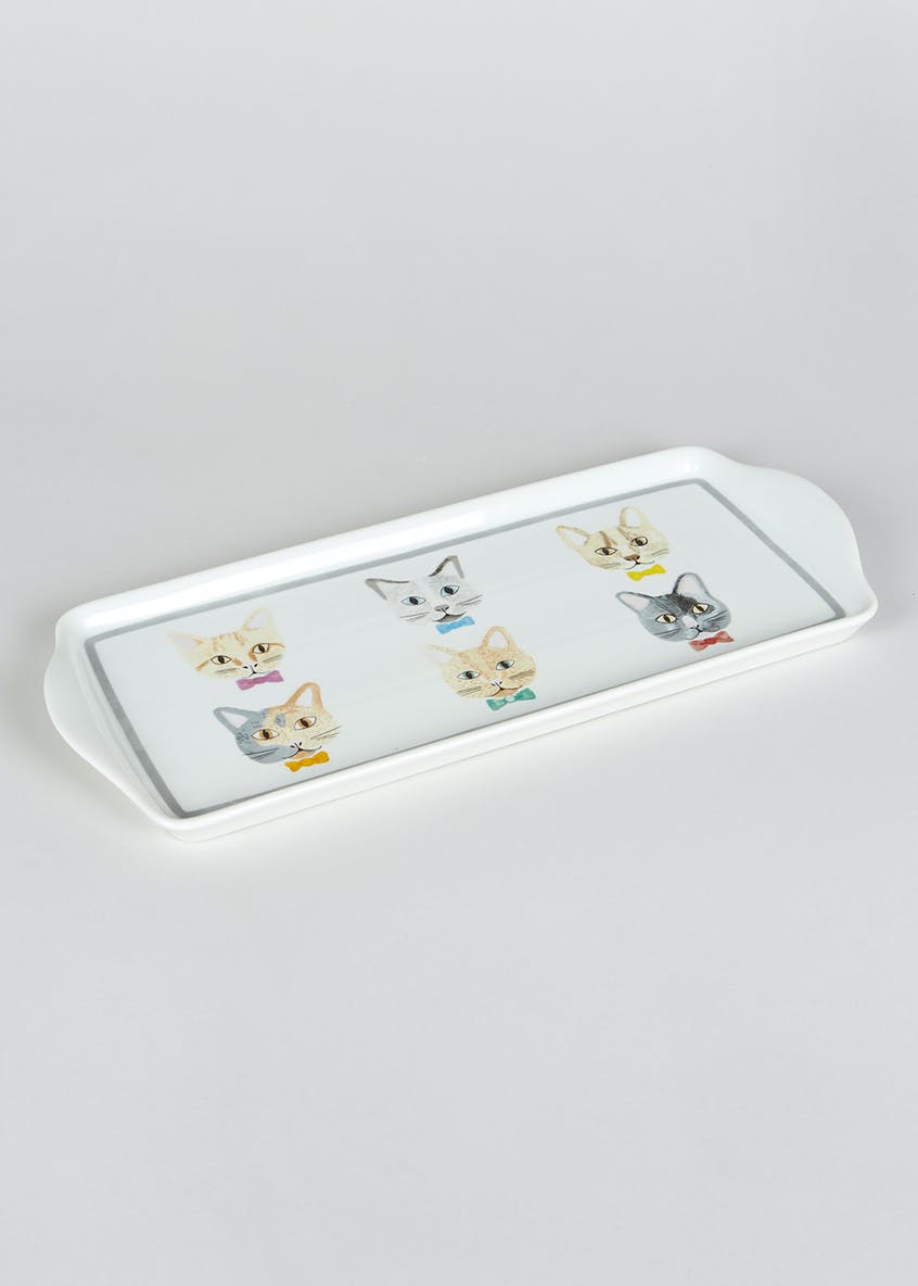Cat Serving Platter (38cm x 16cm)