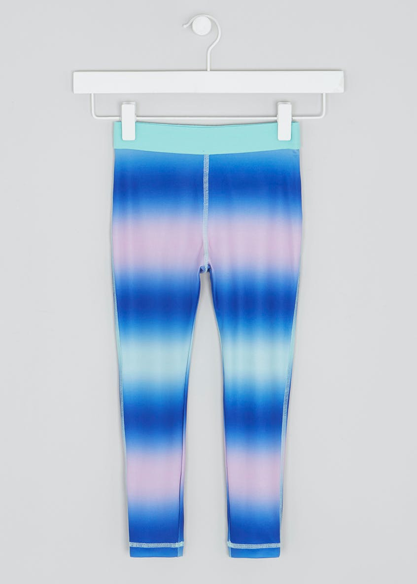 Girls Souluxe Ombre Sports Leggings (4-13yrs)