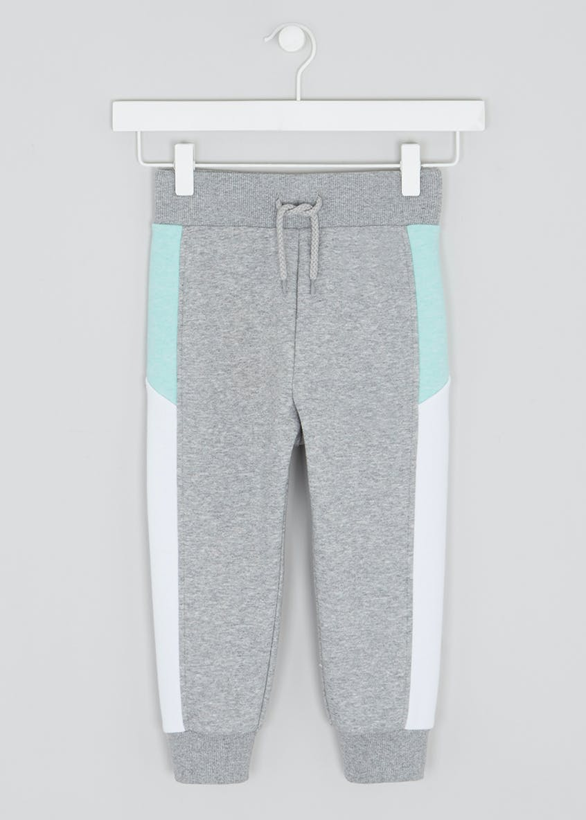 Girls Souluxe Cropped Panel Jogging Bottoms (4-13yrs)