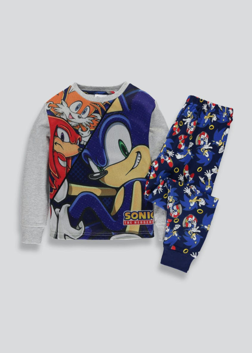 Kids Sonic the Hedgehog Pyjama Set (6-12yrs)