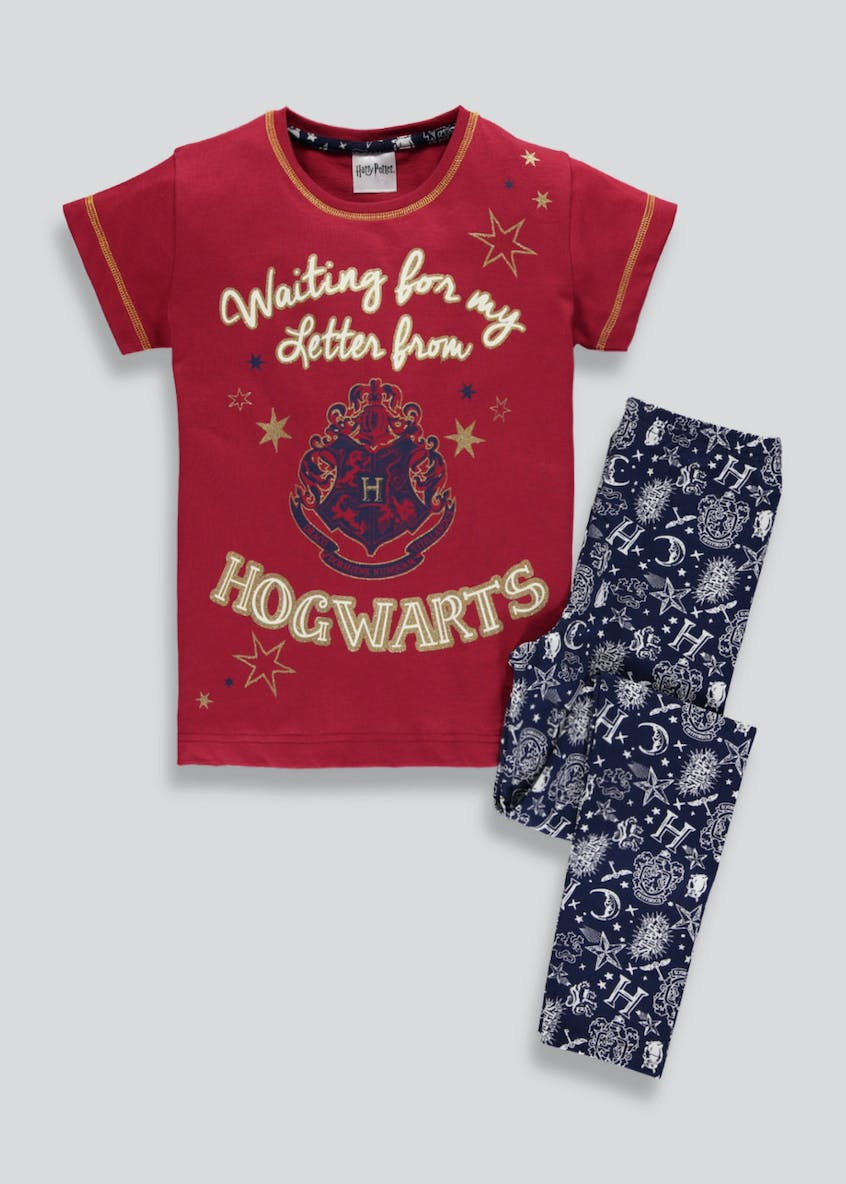 Kids Harry Potter Hogwarts Pyjama Set (5-12yrs)