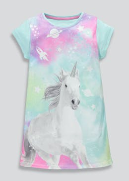 Girls Unicorn Beach Cover-Up (4-13yrs)