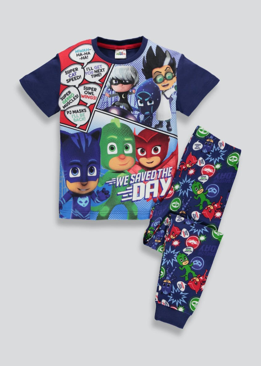 Kids PJ Masks Pyjama Set (2-7yrs)